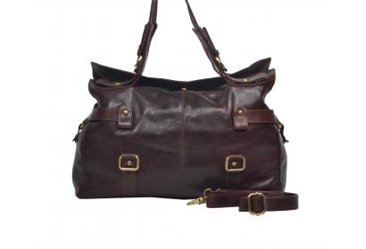 Leather Bag For women's Small Buffalohide Leather Shoulder Bag Cross-body Tote Bag