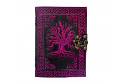 Celtic Tree Of Life Handmade Note Book Journal Plain Page 120 Handmade Paper Dairy