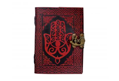 Celtic Hemsha Leather Book Of Shadow Blank Book Journal Note Book Dairy