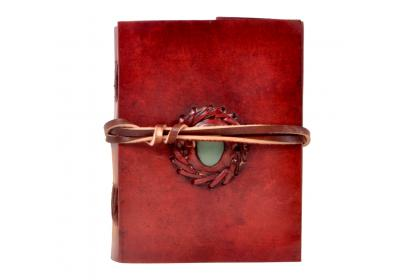 New Handmade simple stone leather journal diary & notebook