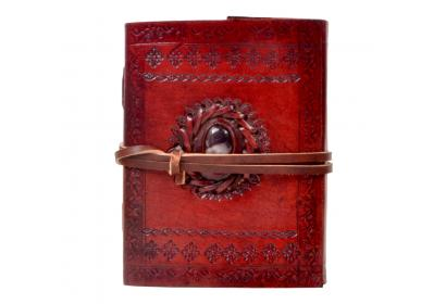 Leather journal New embossed antique single stone notebook & diary