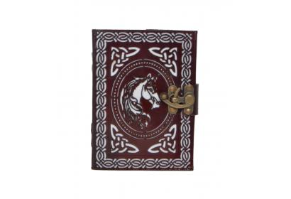 Genuine Leather Journal New Tool Cut-tool Horse Design Stylish Notebook Expensive Gift For Men's And Women's