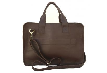 Genuine Leather Business Handbag Briefcase Shoulder Messenger Satchel Bag For Laptop Mac book Bag