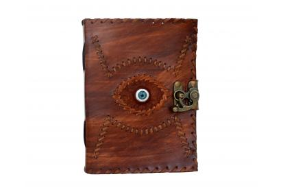 Antique Leather Journal Note Book Eye Leather Notebook Dairy