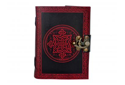 Shadow Celtic Trade Handmade Celtic Quaternary Knot Leather Journal Notebook Diary New