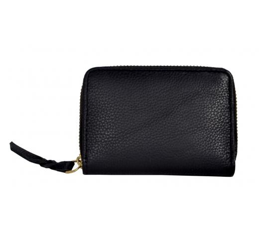 Handcraft Vintage Handmade Buffalo Leather Credit Card Holder Women Luxury Wallet