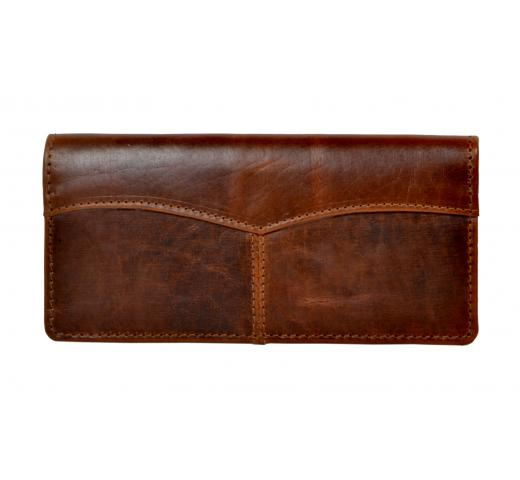 Credit Card Wallet for Men Best Hunter Leather Coin Purse Bifold Wallet