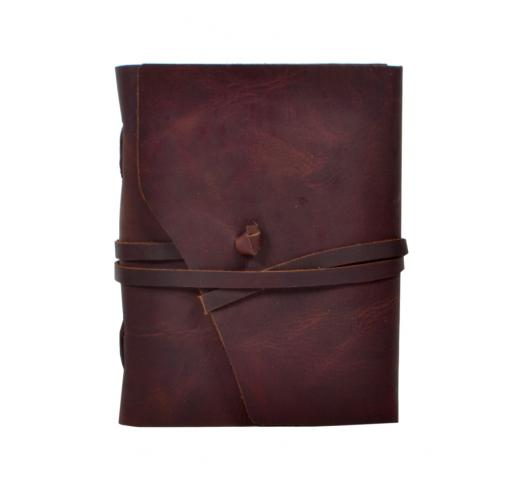 Genuine Buffalo Leather Journal Antique Cut Design Handmade Journal Notebook