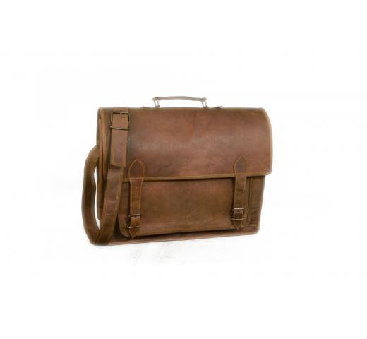 men handmade leather bag