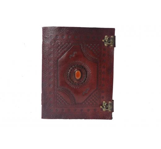 Leather Journal Writing Notebook Antique Handmade Bound Daily Unlined Paper Diary