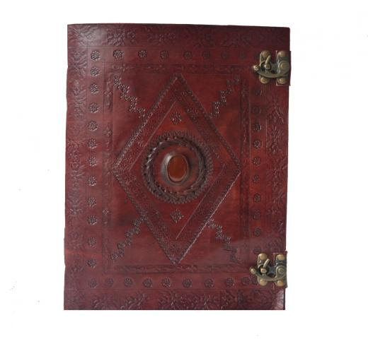 Vintage Leather Journal Travel Diary For Men & Women