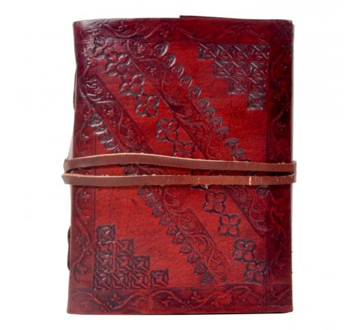 Handmade New design embossed leather journal diary