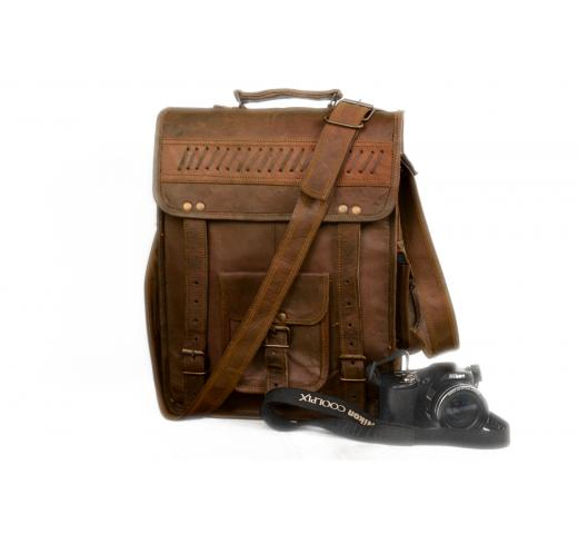 Shoulder Brown Messenger Bag