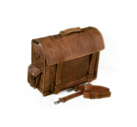 Vintage Goat Leather Laptop bag