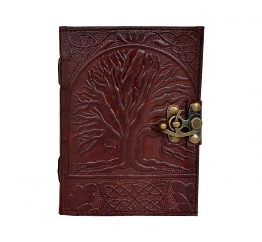 Tree Of Life Handmade Brow Leather Journal Note Book Blank Dairy Wholesaler India