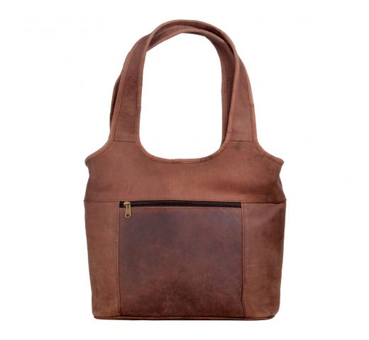 New Vintage Real crazy horse Leather Shoulder Bag Women Messenger Satchel