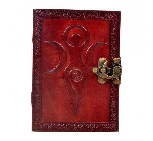 Handmade Genuine Celtic Leather Journal Mother Of Day Antique Design Expensive Gift Journal
