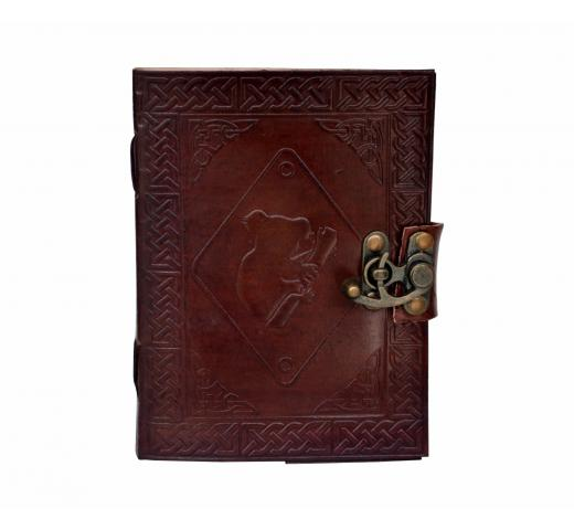 Celtic Leather Note book Trade Handmade Celtic Penda Knot Leather Journal Notebook Diary