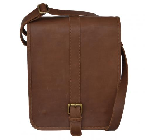 Retro Buffalo Hunter Leather Laptop Messenger Bag Office Briefcase College Bag new look Bag