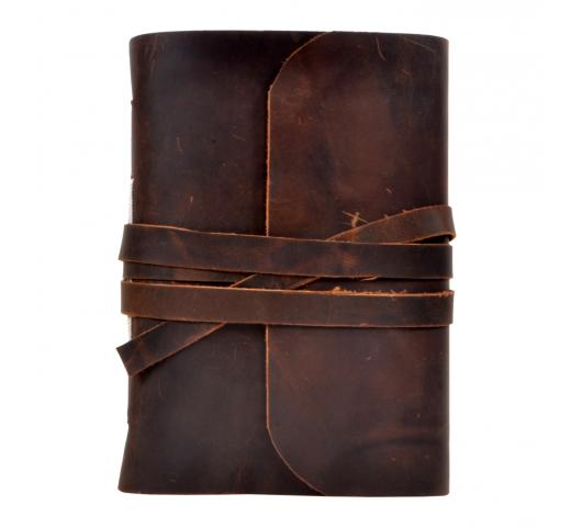 Vintage Handmade Hunter Leather New Diary Organizer Day Planner