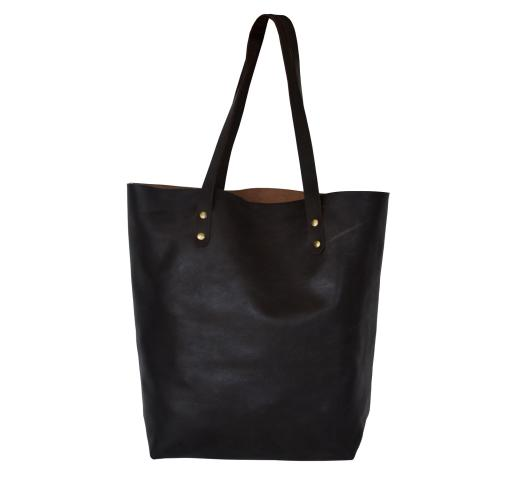 Genuine Black Color buffalo leather Bag