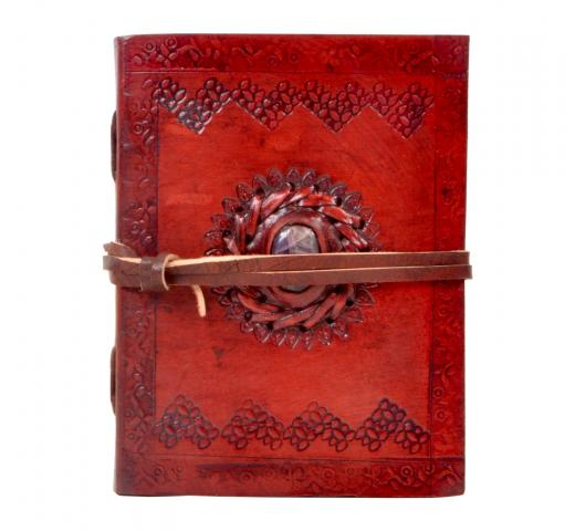 Antique new stone leather journal handmade leather sketchbook & diary