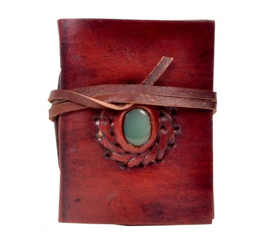 New design simple stone leather journal diary & notebook