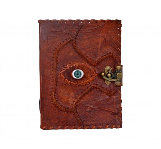 Leather Journal Blank Book Dairy Note Book Eye Leather Dairy Handmade Paper Journal