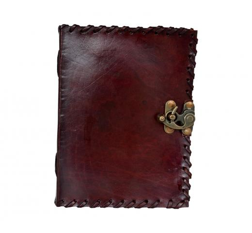 C- Lock Leather Journal
